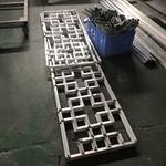 廠家直銷倣古式木紋鋁花格廠家直銷