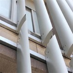 新能源4s店冲孔铝板 外立面铝格栅
