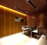厂家专业定制铝型材仿木纹铝方通