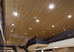 为什么用造型铝方通装饰商场?
