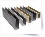 彩色喷涂氧化铝方管哑光面方铝