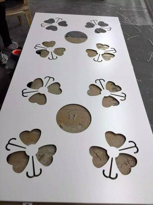 秦皇島大廈外�棡�灰色雕花鋁單板尺寸