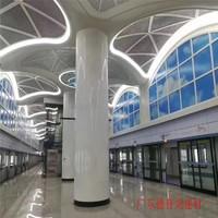 西安地鐵站3D打印藍天白雲鋁單板
