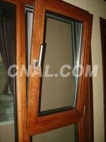 安全环保铝木复合门窗、铝木门窗型材