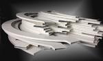 供应波浪弧形铝单板吊顶-厂家批发
