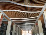 波浪弧形鋁單板吊頂-廠家按圖訂做