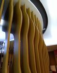波浪弧形鋁單板吊頂-廠家量身訂做