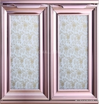 晶钢门铝材 精钢门橱柜门铝型材