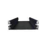 鋁合金led燈殼 黑色led顯示器底板