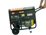 改裝車載250A柴油發電電焊一體機