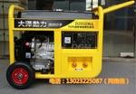 大泽进口190A汽油发电电焊机