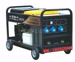 工程用的300A雙缸汽油發電電焊機