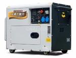 工地施工用15千瓦静音柴油发电机