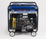 帶輪子的焊機190A柴油發電電焊機