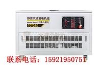 學校電力應急20kw汽油發電機