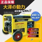 進口190a汽油發電電焊機多少錢