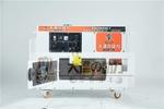 7kw静音柴油发电机舞台展示车专用