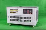 手電啟動12KW靜音汽油發電機