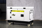 野外供電5KW靜音汽油發電機220V