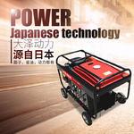 500A汽油发电电焊机低油耗