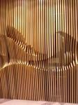 金屬鋁型材方管 鋁方管仿木紋表面