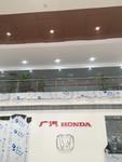 广汽本田店展厅铝单板组合天花吊顶