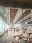 广汽本田4S店展厅吊顶木纹铝单板