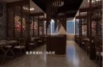 酒店仿古木纹铝花格 复古铝窗花格