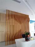 轉印木紋鋁方通廠家定制造型