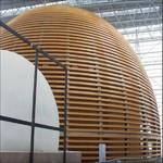 拉彎弧形鋁方管走道吊頂