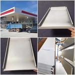 加油站罩棚防風鋁條扣高邊條形扣板