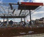 加油站雨棚铝单板结构装饰工程案例