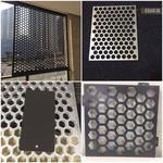 沖孔鋁天花-沖孔鋁板新穎沖孔效果