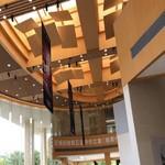木紋鋁單板吊頂 餐廳木紋鋁板