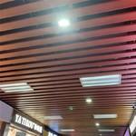 木紋鋁型材方通 鋁材格柵天花