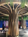 造型铝树包柱铝方通-创意包柱定制