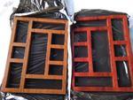 铝制花格-仿古铜铝花格窗-定制厂家