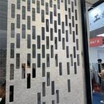 门面冲孔铝单板 氟碳雕花铝板