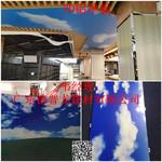 藍天白雲3D鋁板-幹挂式吊頂鋁單板