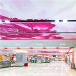 五颜六色3D彩色印花铝板艺术幕墙