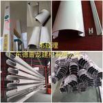 新穎別致的加油站包立柱邊角鋁型材
