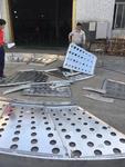 椭圆形拼装造型冲孔铝单板定制厂家