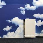勾搭式鋁單板-藍天白雲3D鋁單板