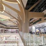 造型设计包柱铝型材-铝树立柱铝板