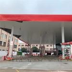中石油舊站改造防風鋁條扣天花