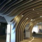 弧形(造型)鋁方通吊頂安裝方法
