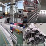 加油站包柱轉角鋁-R60圓角鋁型材