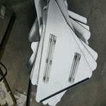 铝滑道及铝三角牌贴膜