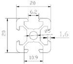 通用铝合金类型材 铝合金型材