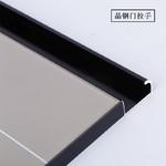 櫥櫃灶臺門晶鋼門貼膜隱框包邊拉手